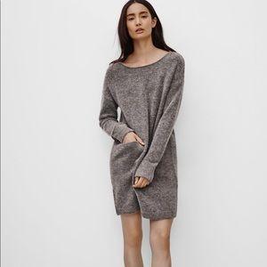 Aritzia Wilfred Free wool alpaca blend dress sz Sm